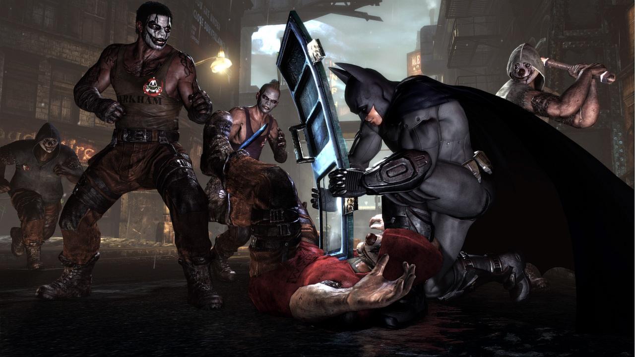 蝙蝠侠:阿甘之城插图1