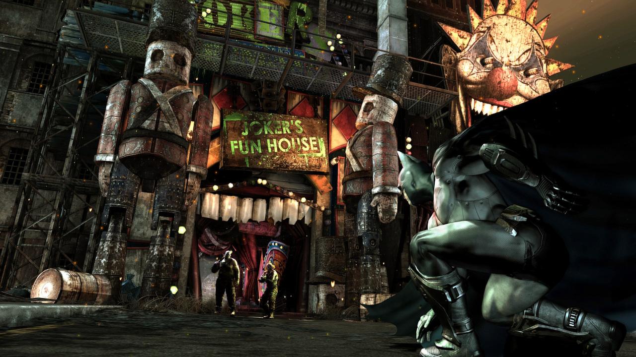 蝙蝠侠:阿甘之城插图5