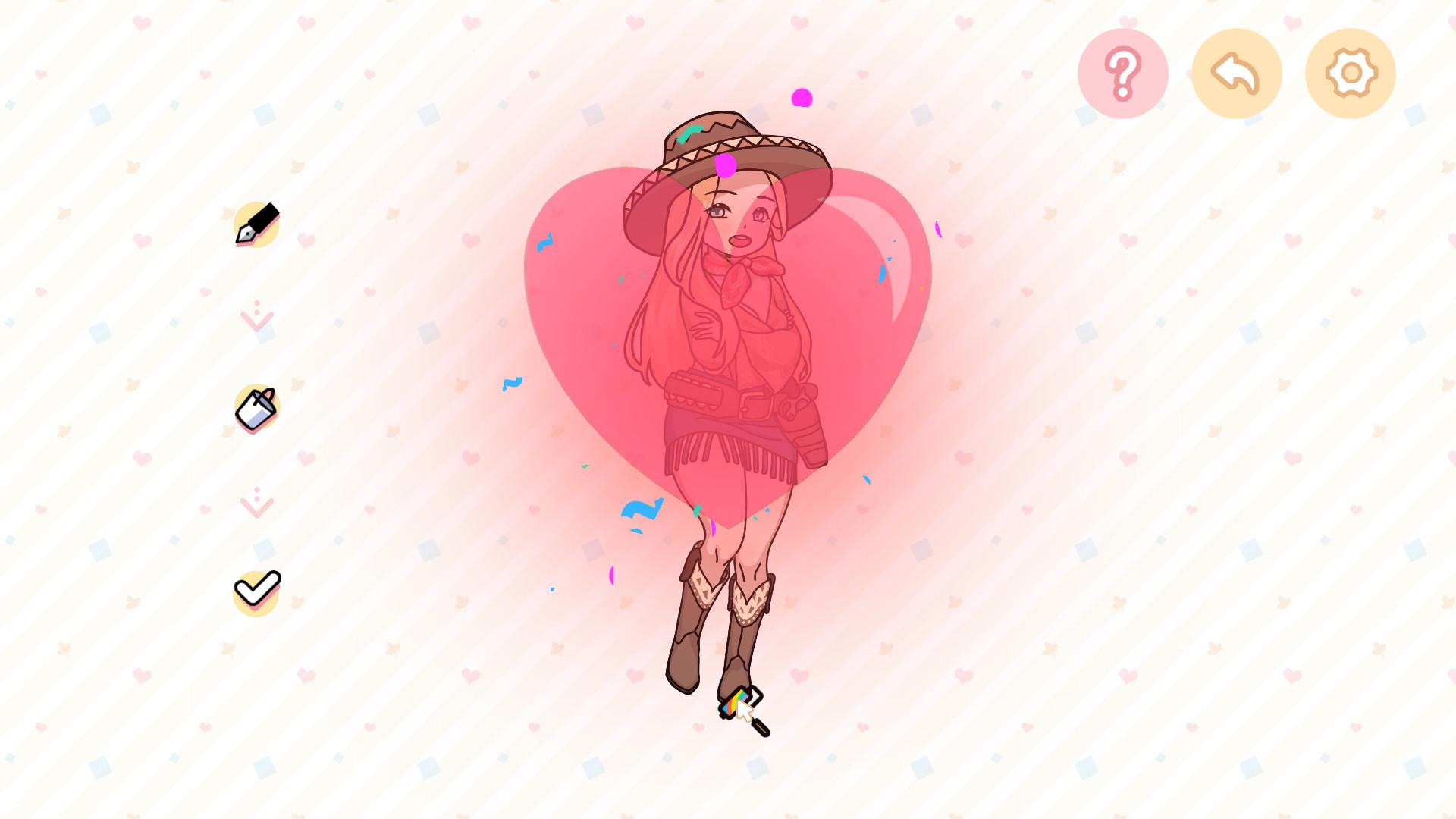 创造女孩/Paint Girl插图15