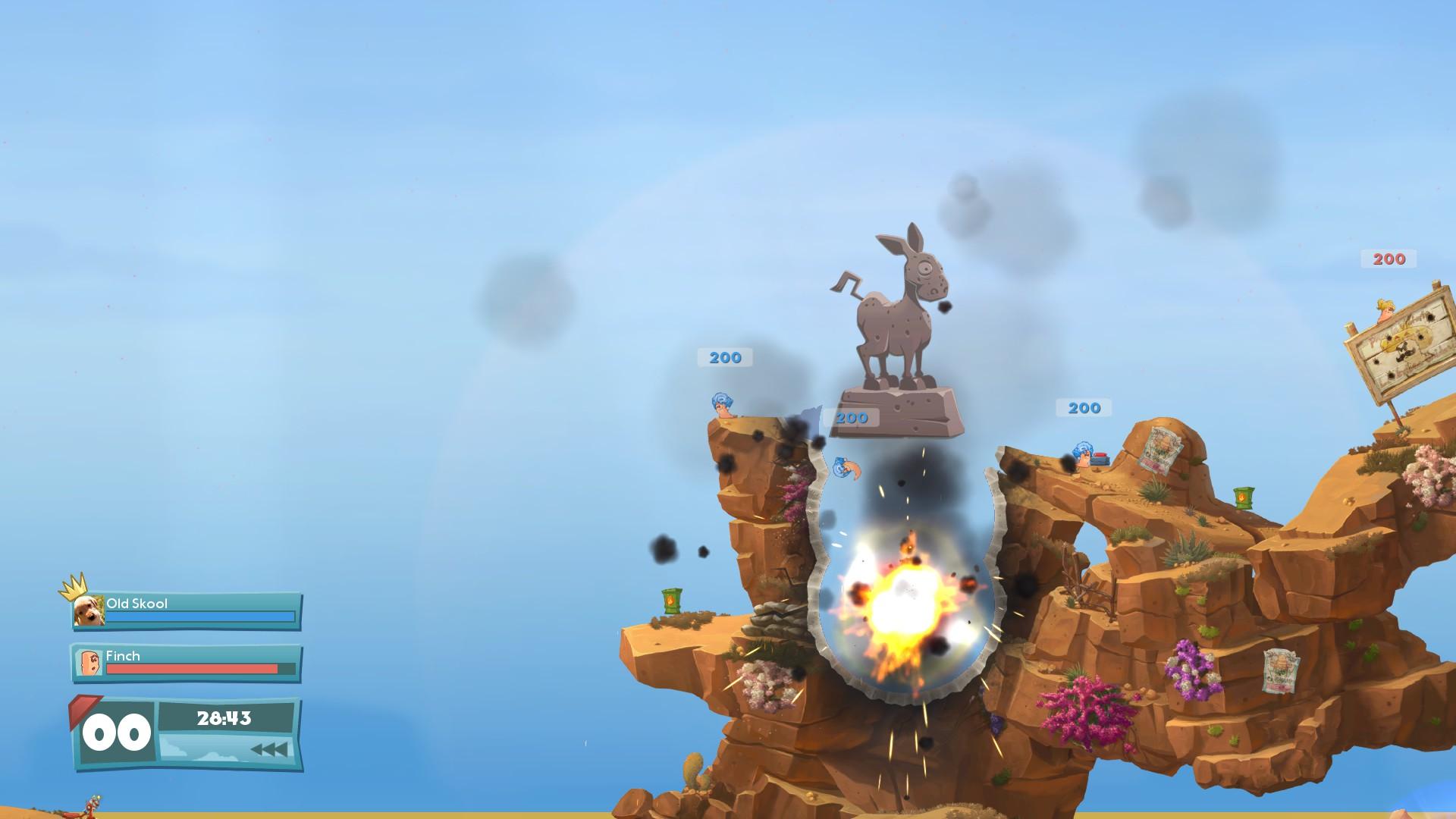 百战天虫:战争武器/Worms: W.M.D.(Build 20180725)插图6